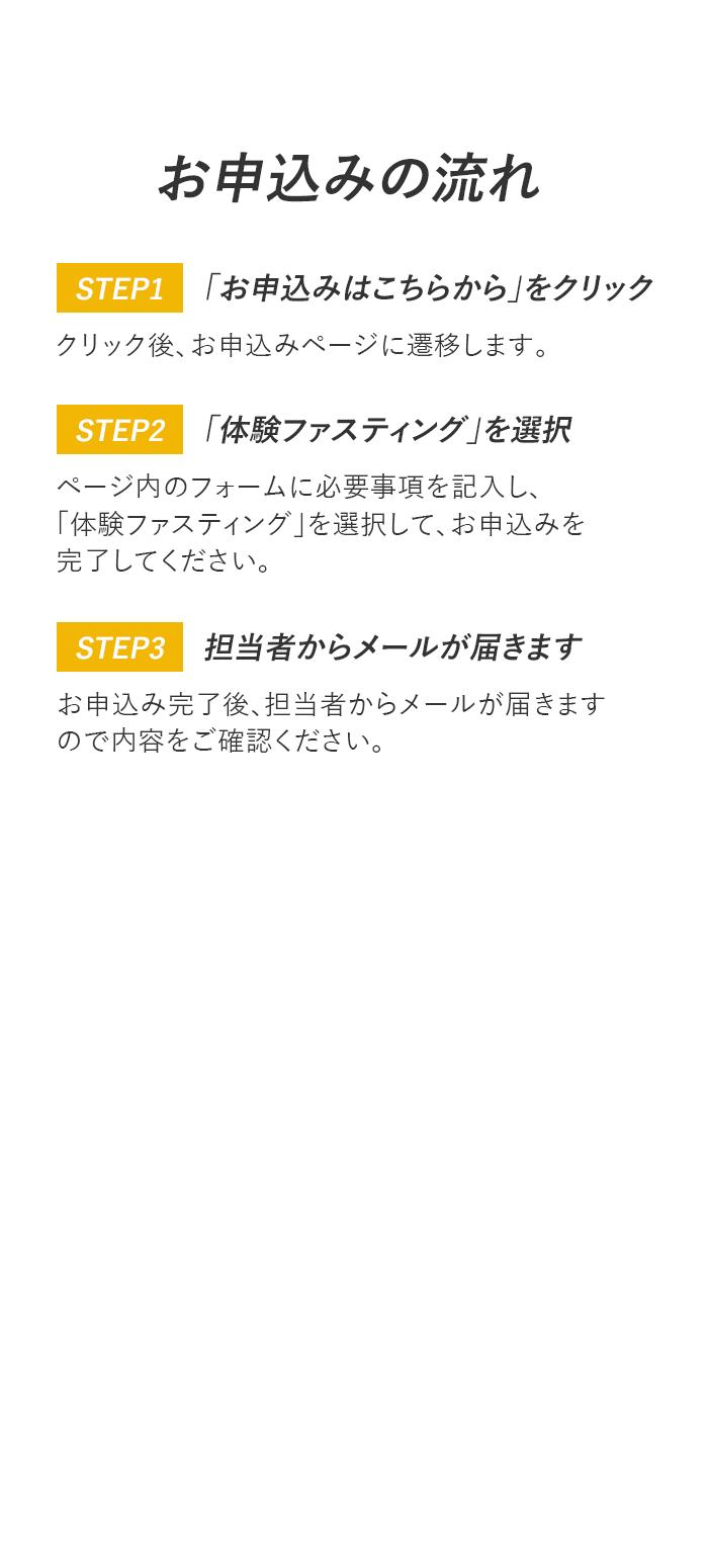 体験ファスティング受付中!